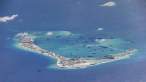 Images show #ChineseAirstrip on #manMade #Spratlyisland nearly finished & building upon #CoralReefs!!! | Rescue our Ocean's & it's species from Man's Pollution! | Scoop.it