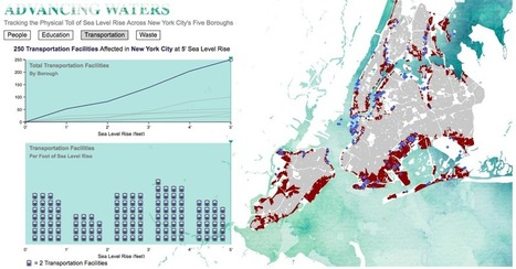 Mapping How Sea-Level Rise Will Affect NYC | IB GEOGRAPHY URBAN ENVIRONMENTS LANCASTER | Scoop.it