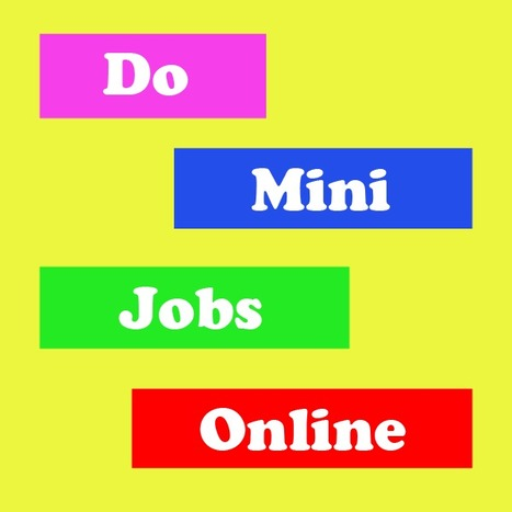 5 Trusted Sites to Do Mini Jobs Online | Techmasi | Scoop.it