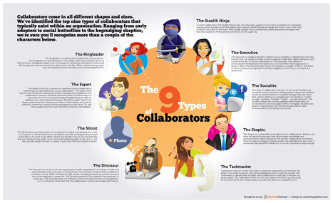 collaboration-personas-the-9-types-of-collaborators.jpg (2190x1335 pixels) | EDUcational Chatter | Scoop.it