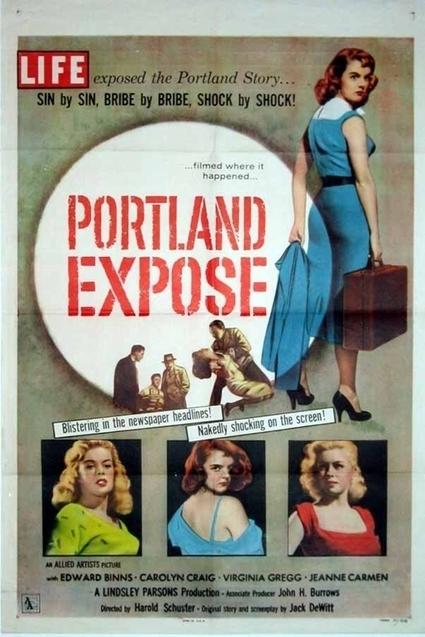Film noir poster bliss with actress Jeanne Carmen — Film Noir Blonde | FILM NOIR | Scoop.it