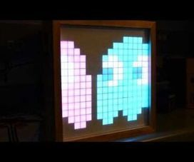 The NeoBoard (16×16 LED Display w/ Arduino) | Raspberry Pi | Scoop.it