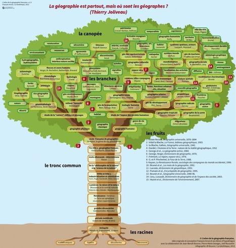 l'arbre de la géographie française | Géographie : les dernières nouvelles de la toile. | Scoop.it