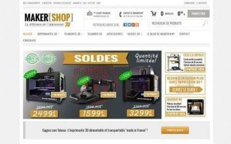 Une boutique en ligne française consacrée à l'impression 3D - Le Parisien | 3D | Scoop.it