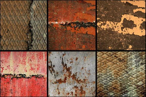 Freebie: 10 High-Res Rusty Metal Textures – Tuts+ Premium Pack Preview | Wolf and Dulci Links | Scoop.it