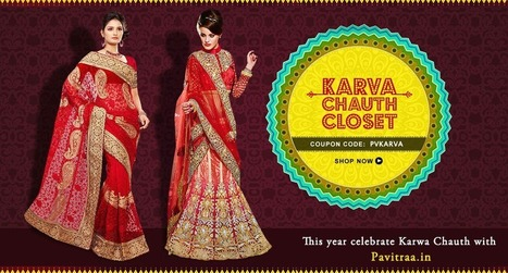 Karwa Chauth 2014 Special Collection - Pavitraa Fashions   Pavitraa   Scoop.it