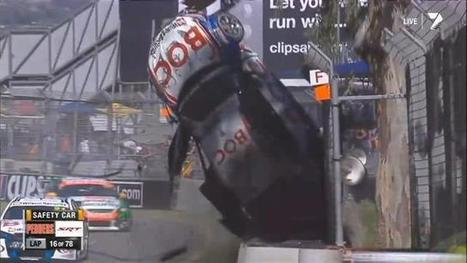 Quest 1 - Team BOC driver Jason Bright walks away from big crash at the Clipsal 500 | Beks OHS Quests and Journey | Scoop.it