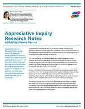 AI Practitioner February 2014 - Research Notes | Art of Hosting | Scoop.it