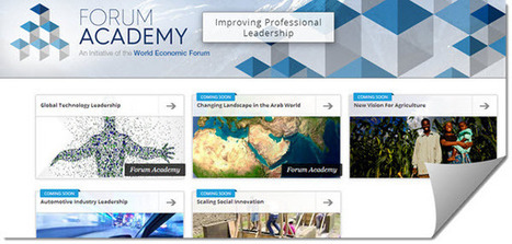 El Foro Económico Mundial y edX lanzan una nueva plataforma educativa | Tecnología e inclusión. | Scoop.it