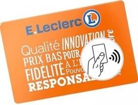 La carte de fidélité Leclerc embarque la NFC | NFC marché, perspectives, usages, technique | Scoop.it