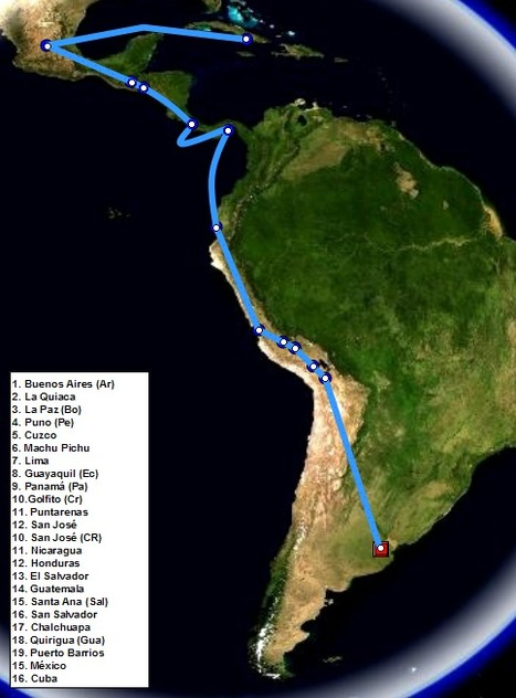 Che Guevaras Route | Temesvary Argentina | Scoop.it