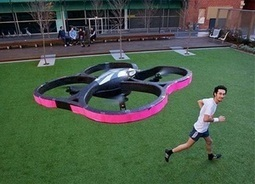 Flying robot set to spur on flying feet - Peninsula Weekly | The Robot Times | Scoop.it