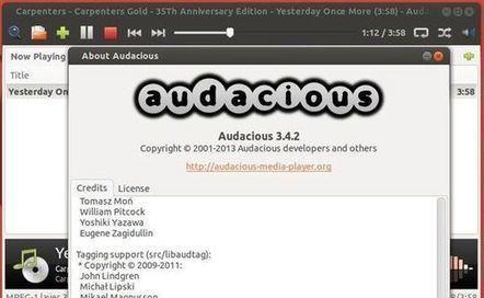Audacious 3.4.2 disponible correction de quelques bugs. | tutoriel,astuce,tech, geek....... | Scoop.it