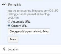 Blogger adds permalink to blog post | Sector Techno | Scoop.it