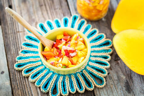Mango Salsa - Plant-Based Vegan Recipe | Vegan Food | Scoop.it