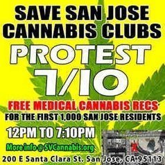 1000 Free Medical Marijuana Recommendations for San Jose Residents TODAY 7/10 at City Hall Rally | Criminology and Economic Theory | Scoop.it