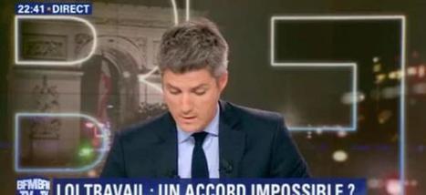 Le cabinet de Manuel Valls envoie en direct un SMS au présentateur de BFM TV pour se plaindre des invités en plateau - Regardez | Pierre-André Fontaine | Scoop.it