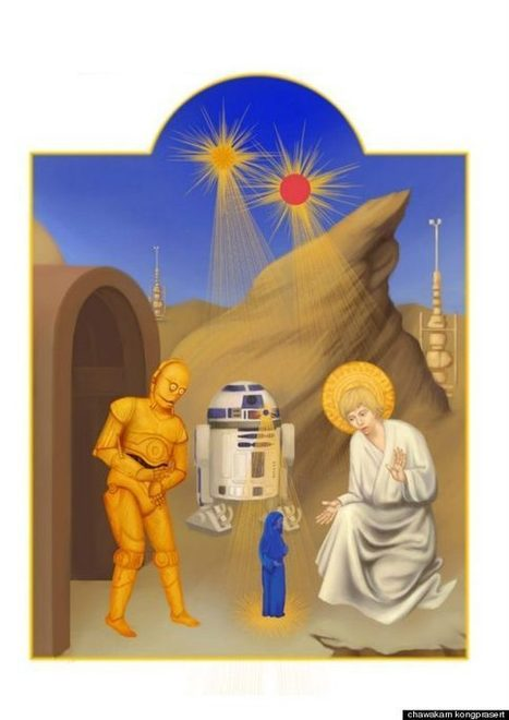 'Star Wars' As Medieval Manuscript | The History of Art | Scoop.it
