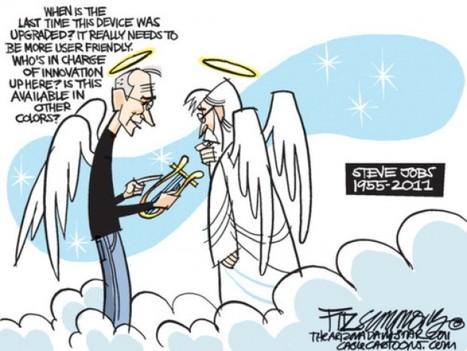 Addio a Steve Jobs: le vignette - Repubblica.it | DailyComics | Scoop.it