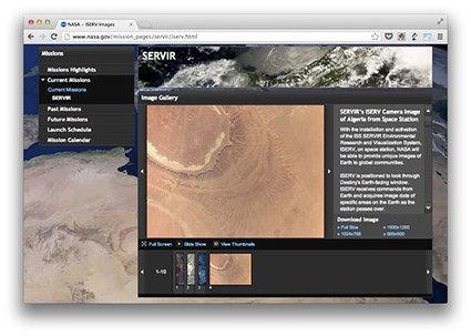 El telescopio ISERV de la Estación Espacial Internacional empieza a servir imágenes | Microsiervos (Ciencia) | Ikerketeroak | Scoop.it