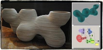 Generative Furniture Design (GFD3D) launched | Parametric Architecture and Design | Scoop.it