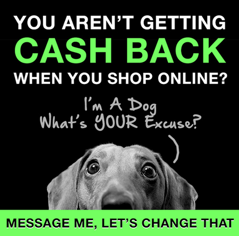 You Aren't Getting Cash Back When You Shop Online? | Making Money Online | Scoop.it