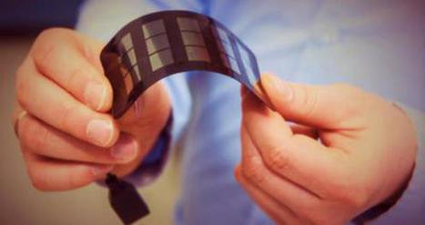 Des panneaux solaires imprimables s'adaptent à toutes les surfaces | Innovation - Transfert de technologies | Scoop.it