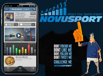Track your fitness with Novusport's social mobile sports game | UX-UI-Tech for Enhanced Human | Scoop.it