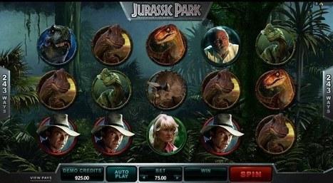New Jurassic Park slot online | Online Slots | Scoop.it