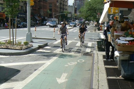 Cycling an Integral Part of Life in NYC | AP Human Geography Education | Scoop.it