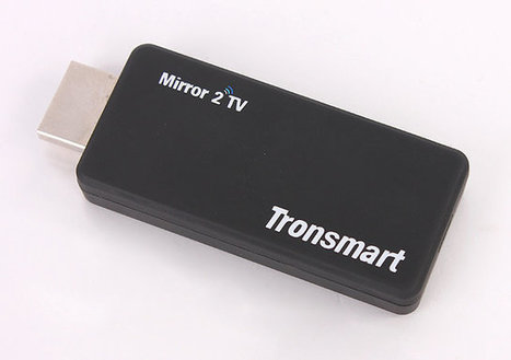 Tronsmart T1000 Mirror2TV EZCast, Miracast, Airplay, DLNA HDMI Dongle Sells for $29.99 | Embedded Systems News | Scoop.it