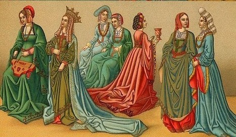Vestir en la Edad Media | Arque Historia - La actualidad de la Historia | History 2[+or less 3].0 | Scoop.it