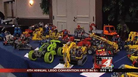 4th annual Lego Convention draws crowds - WOAI | Lego Mindstorms | Scoop.it