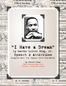 Martin Luther King, Jr. Dream Speech & Activities | Resources for Teachers | Scoop.it