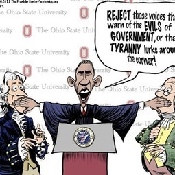 Obama says reject warnings of tyranny....what if our founders did that? | Littlebytesnews Current Events | Scoop.it