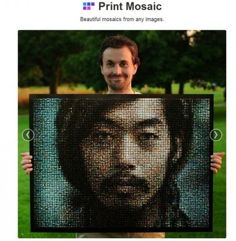 PrintMosaic, crea mosaicos usando tus fotos de Facebook, Dropbox o Instagram | Bits on | Scoop.it