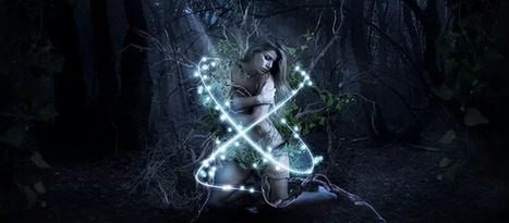 Photoshop Tutorial: Create a Beautiful Lady in Magical Forest | Photoshop Tutorials | Scoop.it