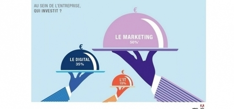 Infographie : le Baromètre du Marketing Digital | Mobile technology & Digital business | Scoop.it