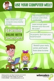 FREE Poster: Make Sure Pupils Are Using Computers Properly! | Newsanywhere | hobbitlibrarianscoops | Scoop.it