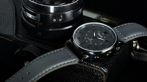 Boldr Voyage smartwatch looks like a normal watch, has a 6-month battery | Wearable Tech and the Internet of Things (Iot) | Scoop.it