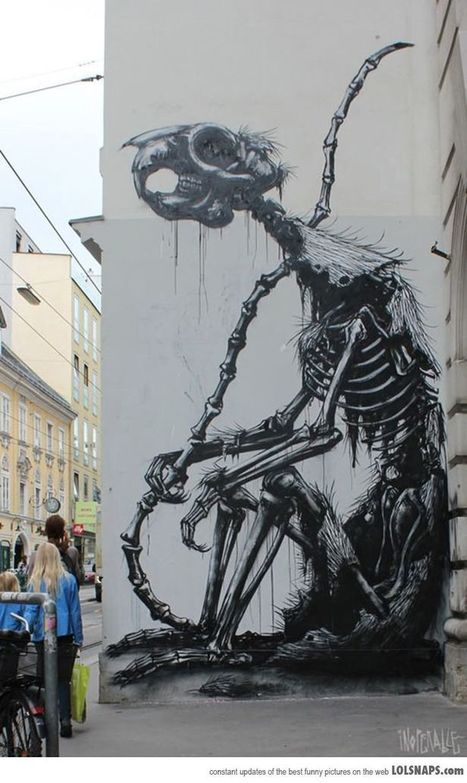 Awesome Street Art In Vienna | World of Street & Outdoor Arts | Scoop.it
