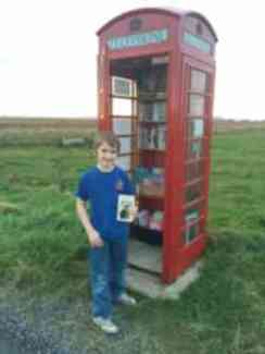 Novel idea: The quirky miniature libraries popping up across Scotland | Loch Ness Monster | Scoop.it