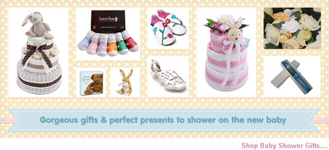Baby Shower Gifts & Games, Decorations & Nappy Cakes | Baby Shower Gifts | Scoop.it