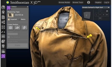 Smithsonian X 3D Provides Great Resources for Teaching Using 3D Models and Artifacts ~ Educational Technology and Mobile Learning | APRENDIZAJE | Scoop.it
