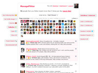 ManageFlitter - Twitter Account Management - Over 308 Million Unfollowed | Tools You Can Use | Scoop.it