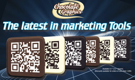 Chocolate Graphics releases the latest in mobile marketing through QR code embossed treats | QR Code Press | Consumer Behaviour | Scoop.it