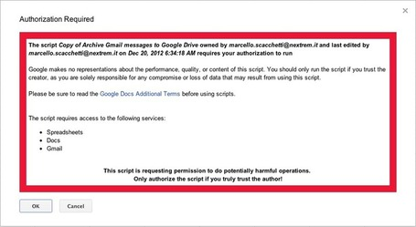 Archive Gmail messages to Google Drive folders | Jellybend | Google Apps Script | Scoop.it