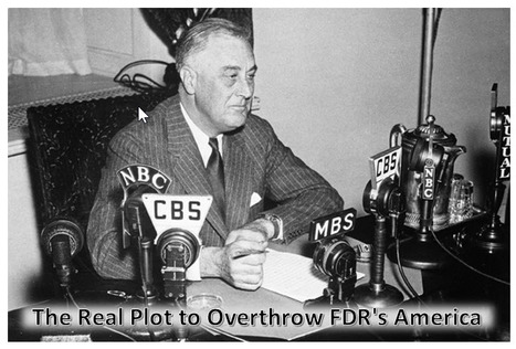 """""""The Real Plot to Overthrow FDR's America""""   Daily Kos   Repost from 02/27/05   FDW's Daily Scoops   Scoop.it"""