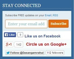 Add Stylish ShoutMeLoud Subscription Box to your website | SeoBacklinksMoney.com | Scoop.it