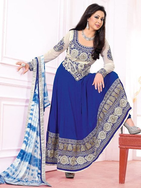 Anarkali Salwar | Kalazone Silkmill | Latest Anarkali Salwar Kameez Online | Scoop.it